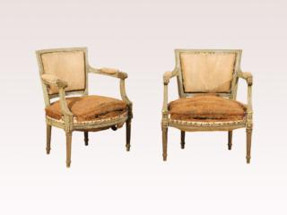 Pair of French Circa 1830 Chairs