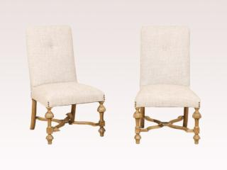 Pair of Italian 19th C. Chairs