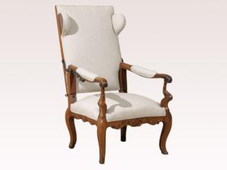 An Italian Reclining Arm Chair
