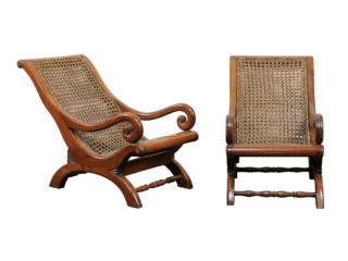 Pair of English Children's Chairs