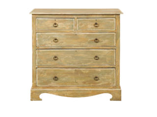 Swedish Antique Five-Drawer Chest