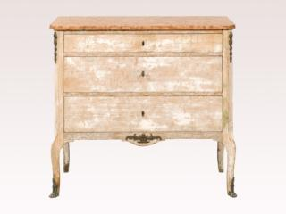 French 19th C. Marble Top Chest