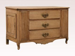 18th C French Three Drawer Buffet
