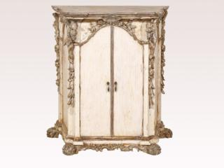 Italian Ornately Carved Cabinet