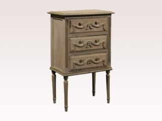 3 Drawer Chest with Carved Swags