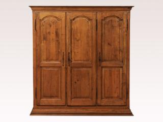 A Three-Door French Armoire