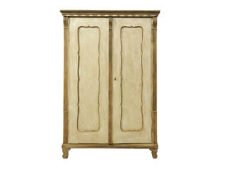 19th C. Swedish Two-Door Cabinet