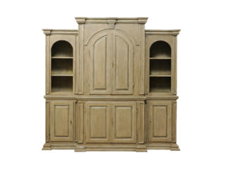 A Large Size Painted Wood Cabinet