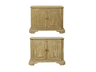 A Pair of Reclaimed Wood Buffets