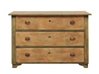 A 19th C. Swedish 3-Drawer Chest