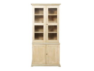 Swedish Glass Bookcase & Cabinet