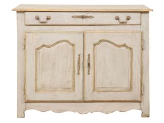 An 18th C. French Painted Buffet