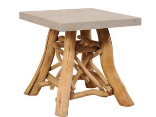 European Branch & Stone Top Table