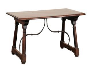 Italian Stretchered Coffee Table