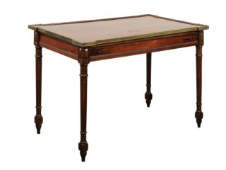 Mid 20th C. Backgammon Table