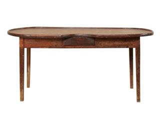 19th C. Spanish Oval Gaming Table