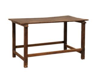 A Rustic 19th C. European Table