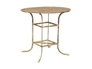 French Bistro Table, Mid 20th C.