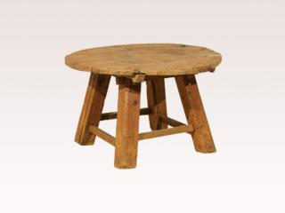 Old Chinese Rustic Side Table