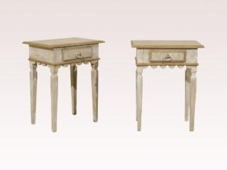 Pair of Small Size Side Tables