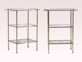 Sleek Modern Style Glass Tables