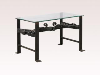 Italian Iron & Glass Coffee Table