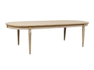 Custom Swedish Oval Dining Table