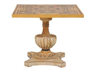 Italian Pietra Dura Square Table