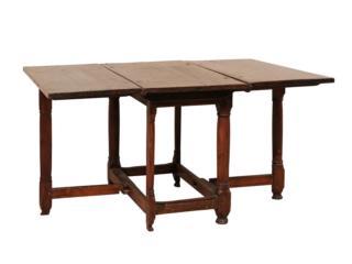 A Period Baroque Gate Leg Table