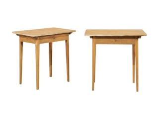 A Pair of Swedish Side Tables