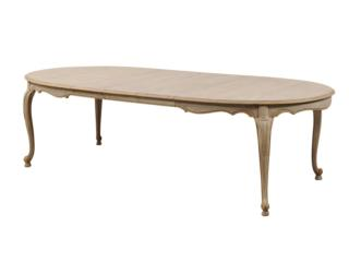 A Three-Leaf Oval Dining Table