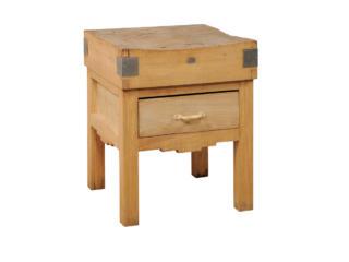 A Vintage Butcher Block Table