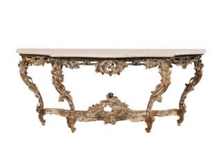 An 18th C. Rococo Console Table
