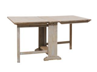 Swedish 19th C. Expandable Table.