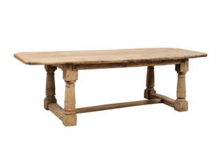 18th C. Italian Oak Dining Table