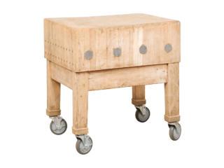 A Swedish Butcher Block Table