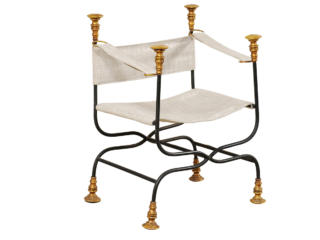 "A Single Italian ""Dante"" Chair"