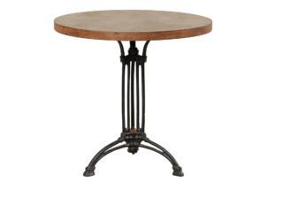 Vintage French Iron Bistro Table