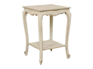 Antique French Square Side Table