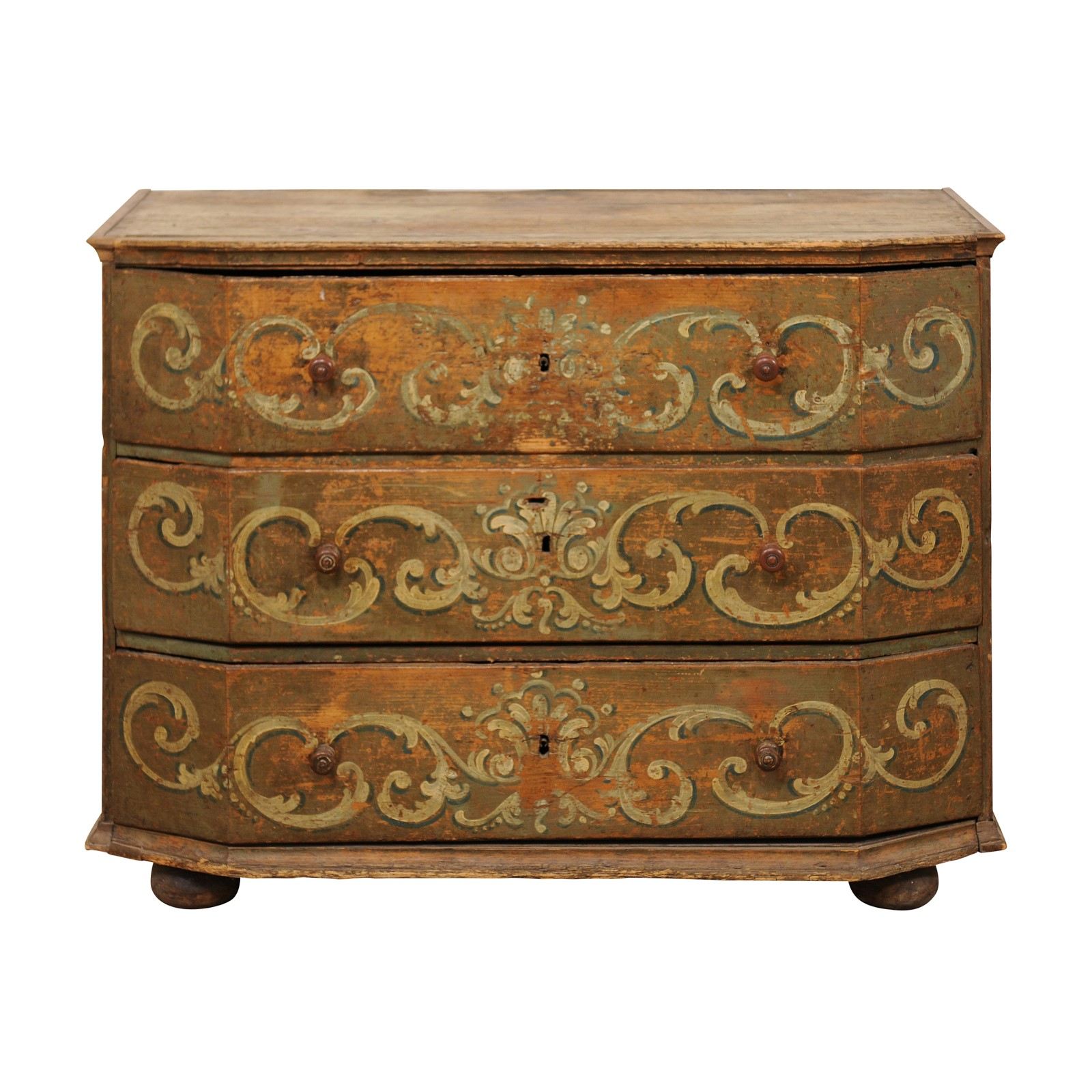 A Fabulous 18th C. Italian Chest