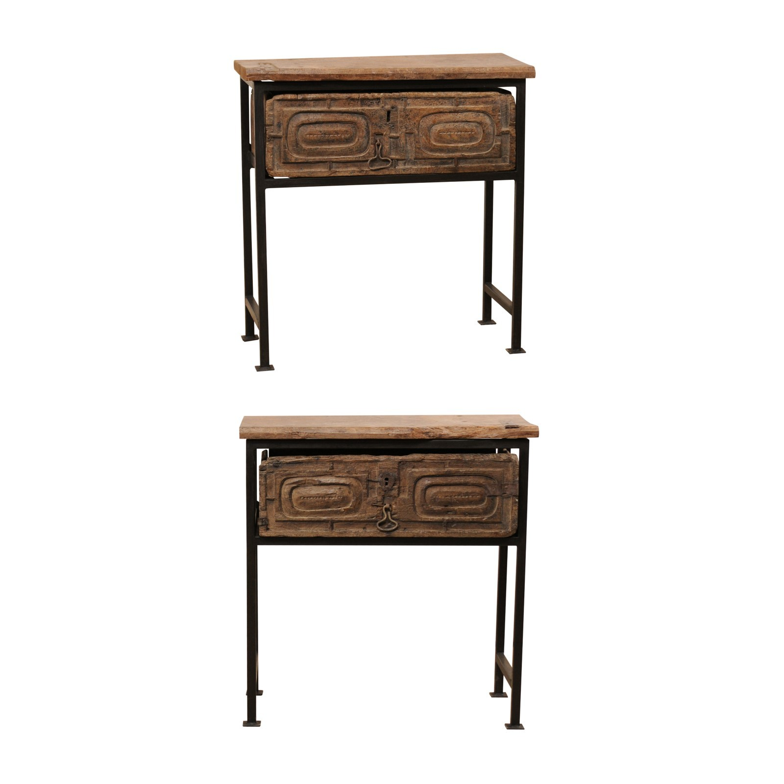 18th C. Spanish Drawer Tables