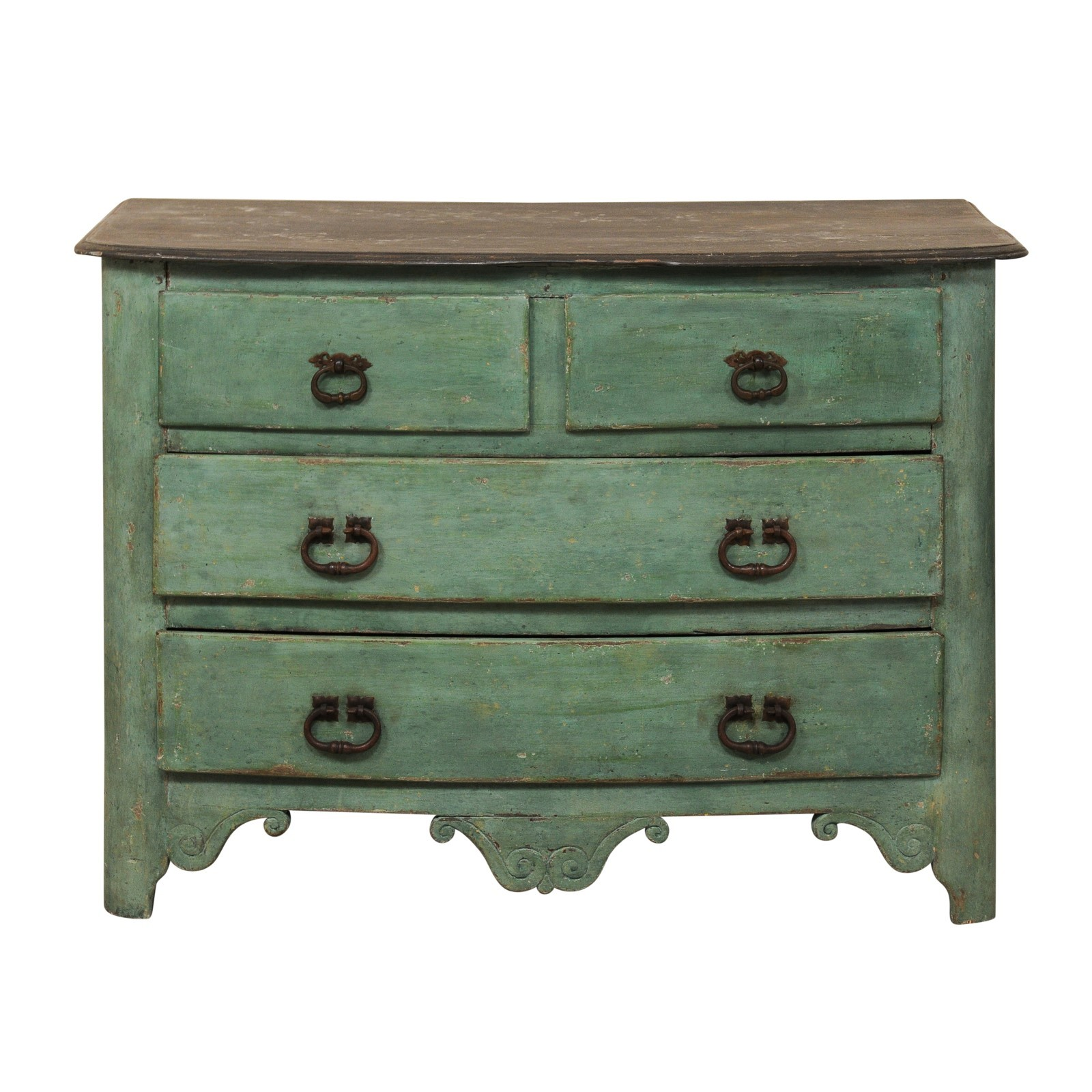 18th C. Painted French Chest