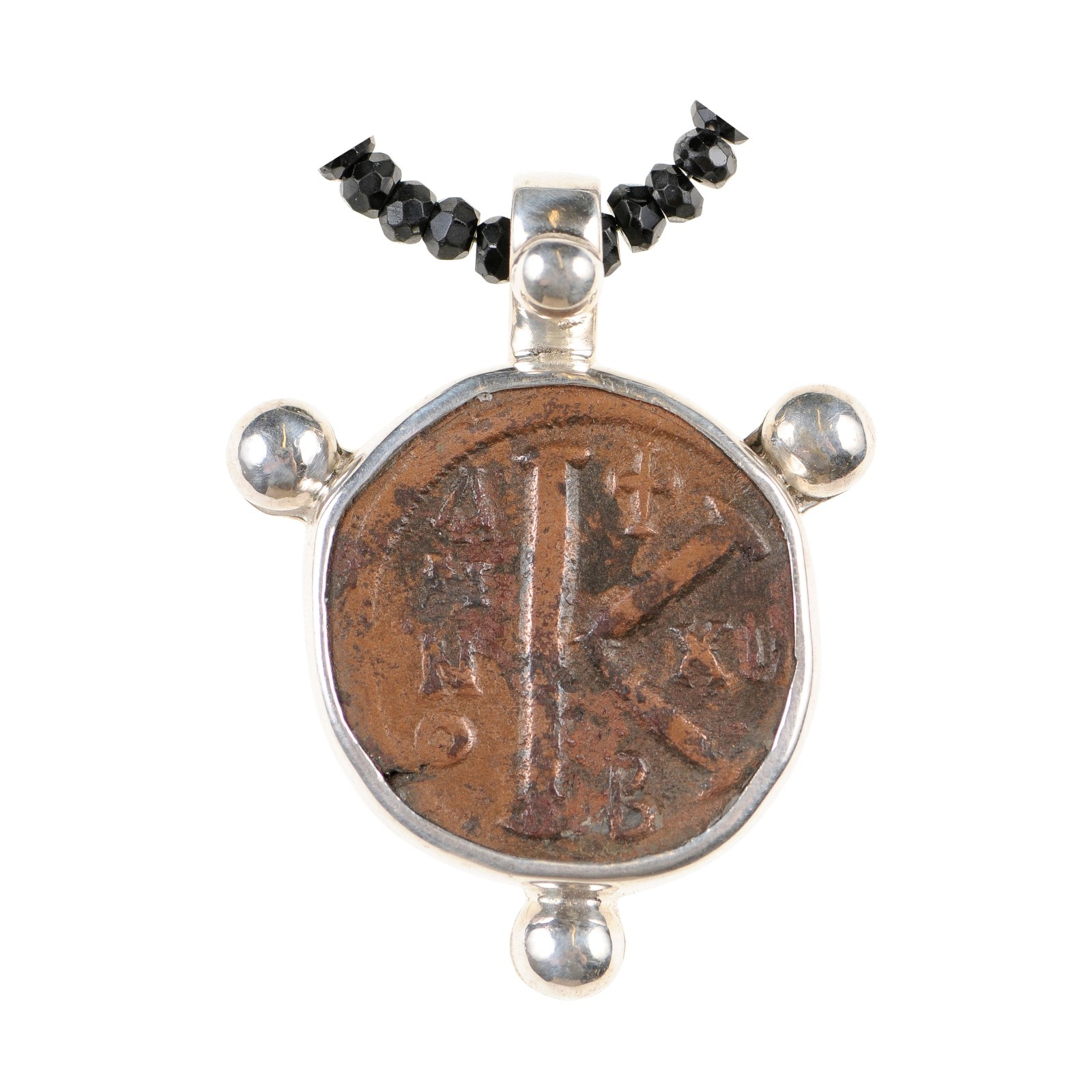 Middle Ages Byzantine Coin Pendant