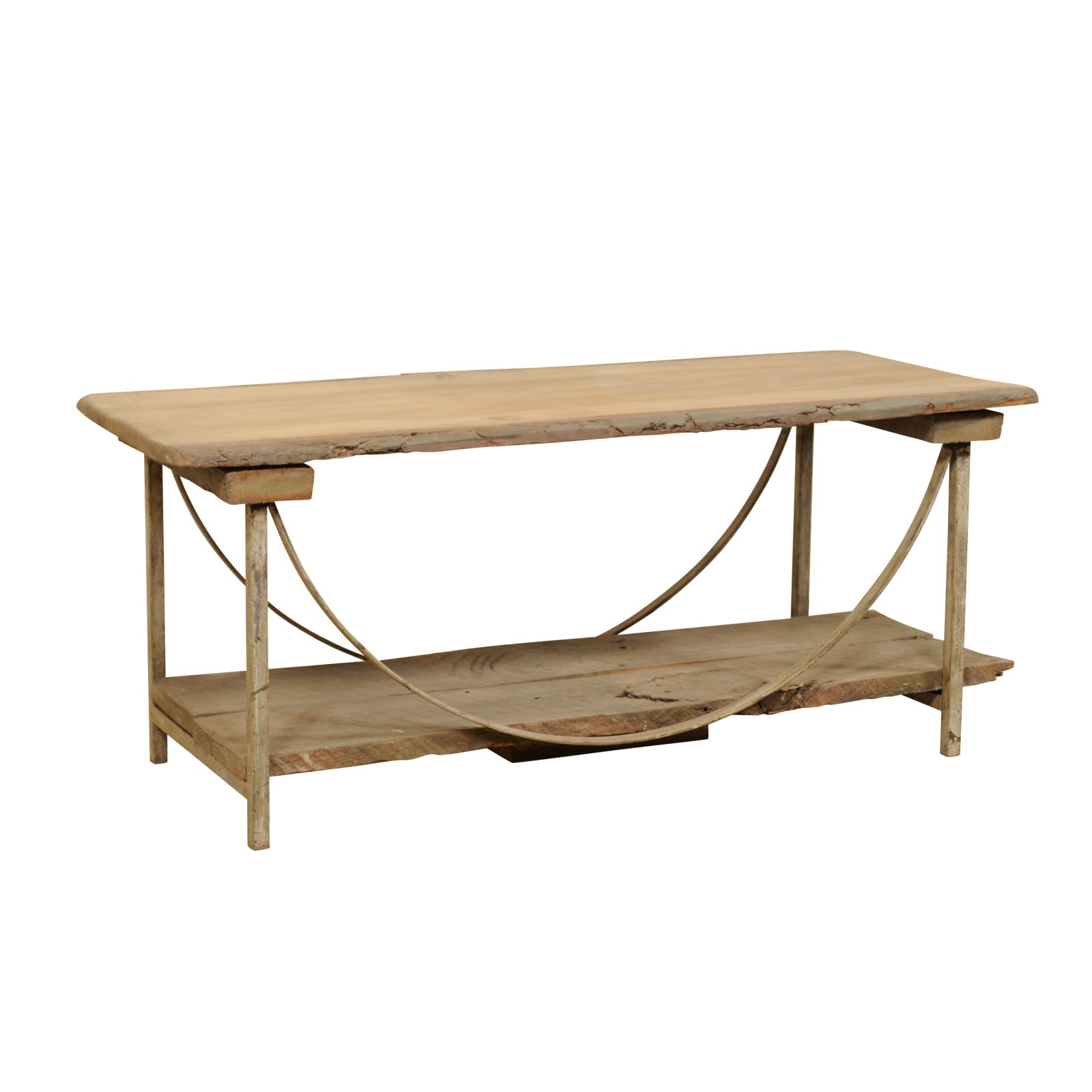 Sycamore & Iron Coffee Table