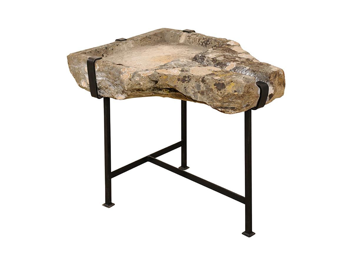 French Antique Stone Trough Table