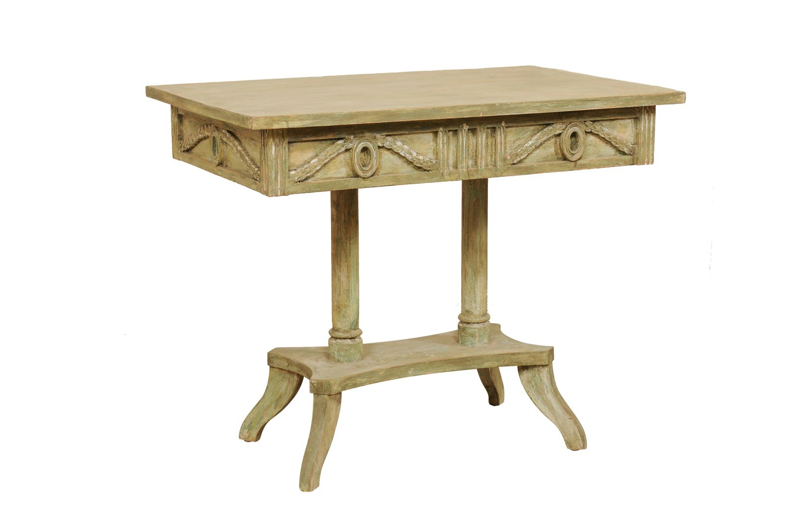 Swedish Neoclassical Wood Table