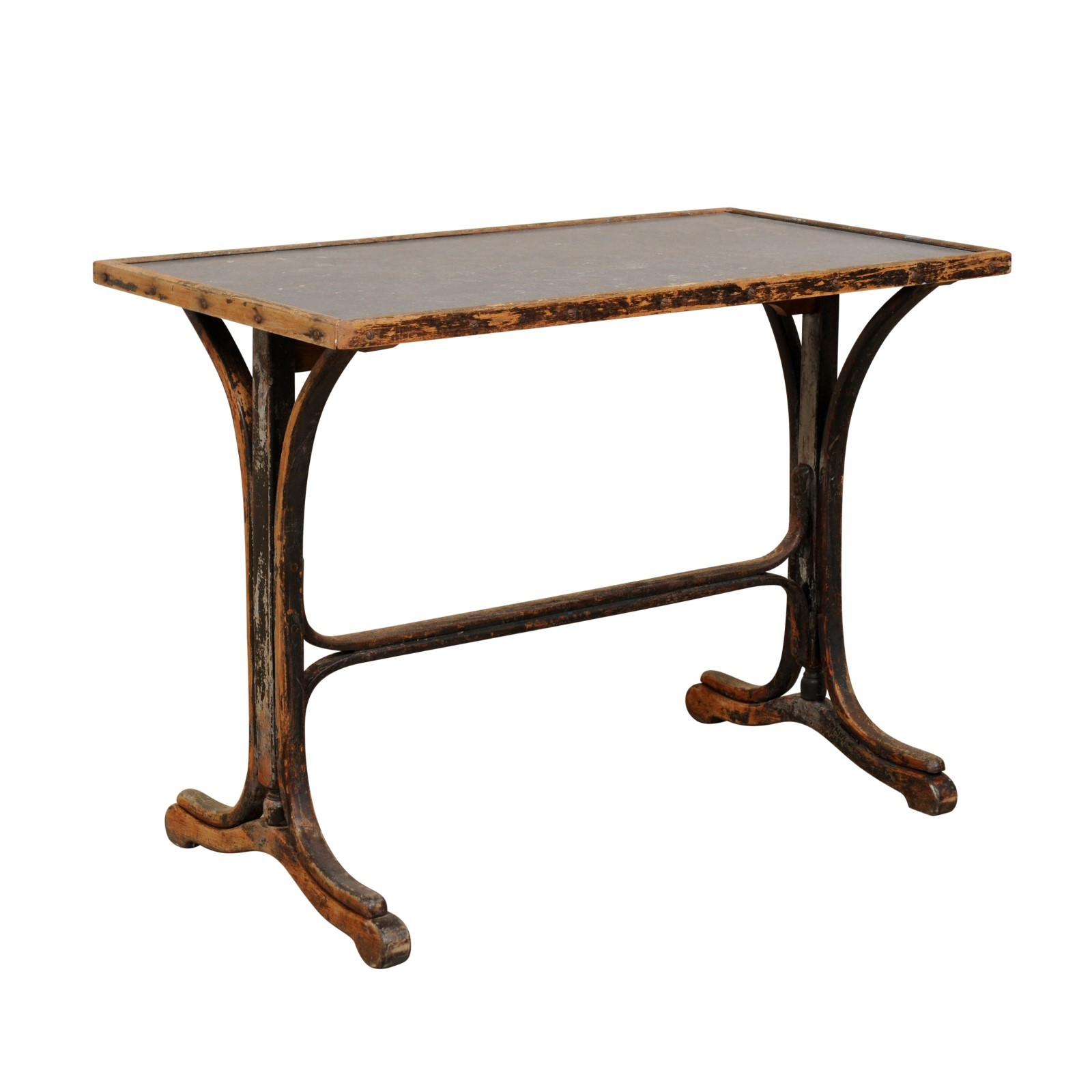 French 19th C. Stone Top Desk