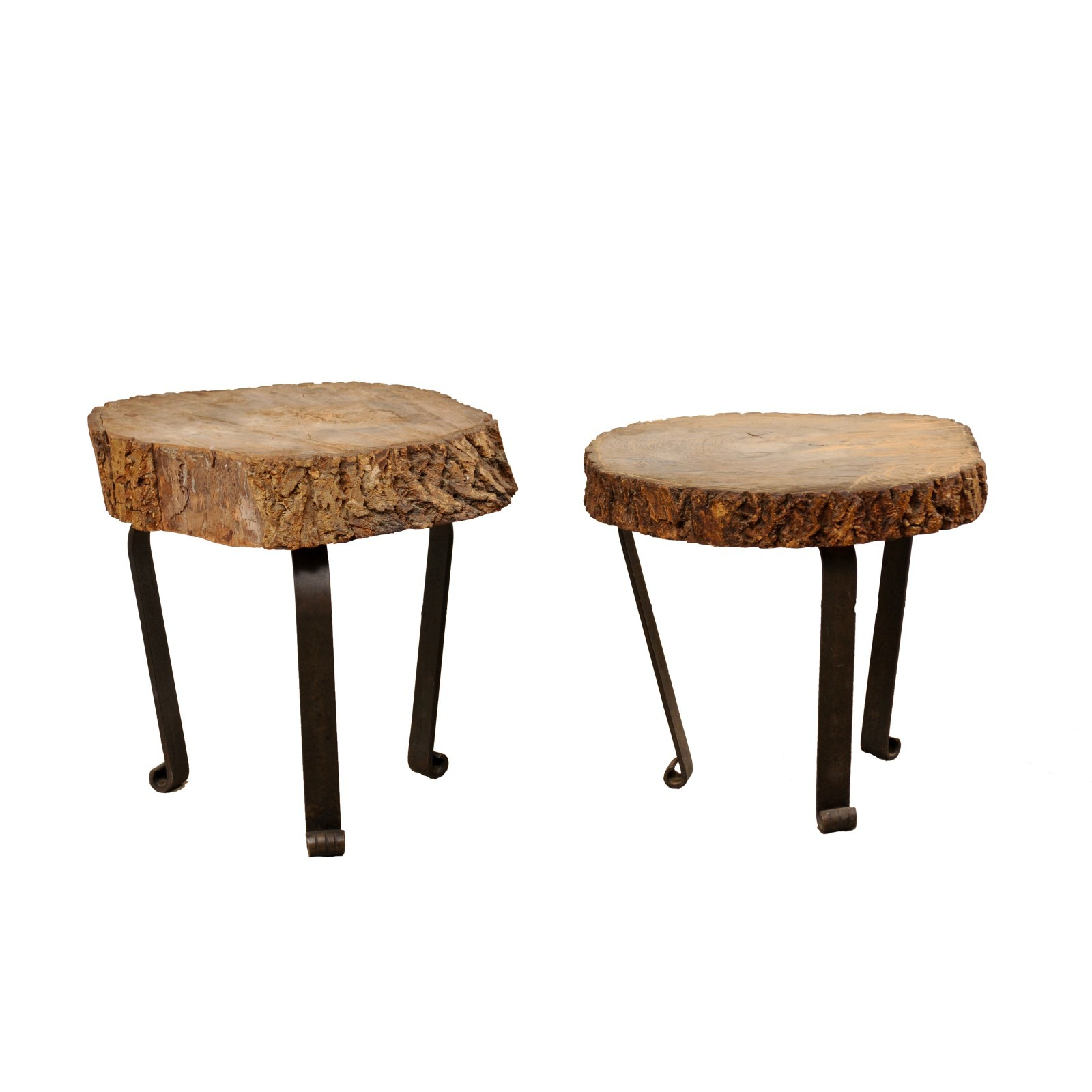 Pair Petite Sliced Log Tables