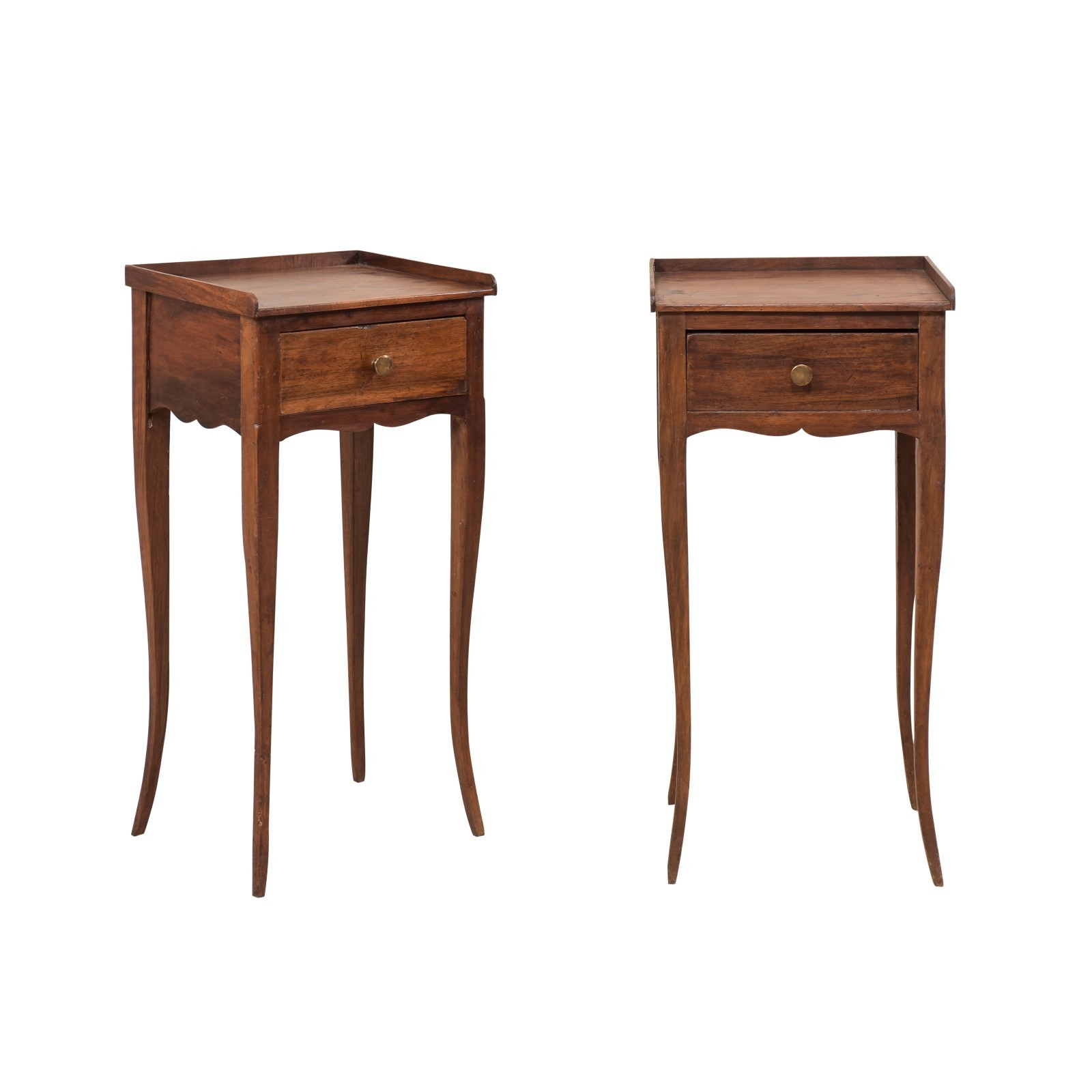 Pair Petite-Size French Side Tables