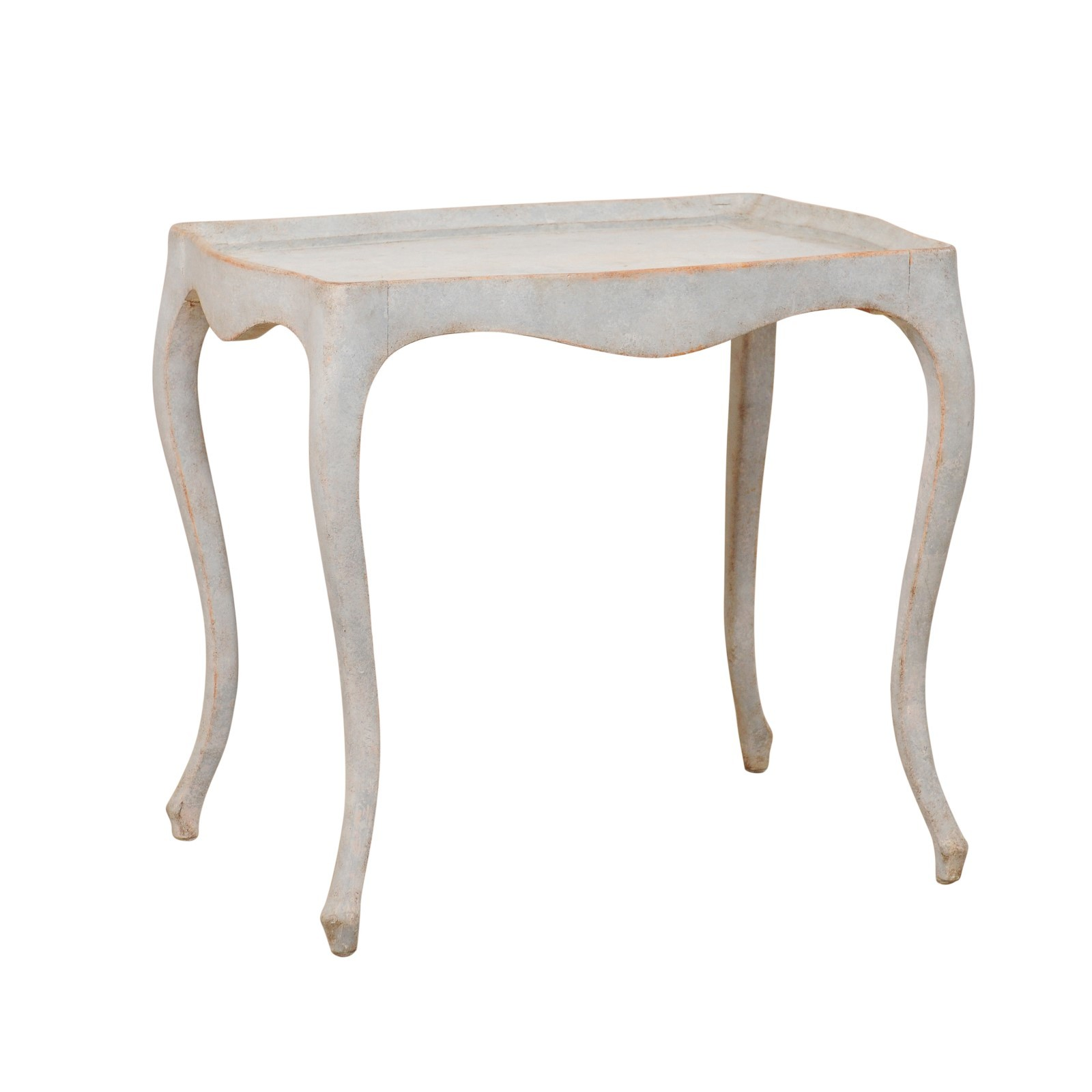 Period Gustavian Painted Wood Table, Sweden